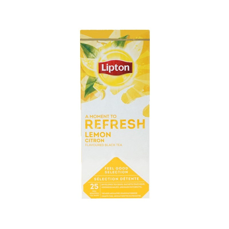 LIPTON Svart Lemon Tea